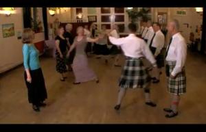 Scottish dancing for fitness