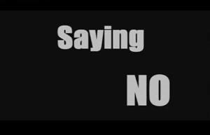 Saying no to drugs